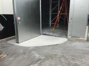 Industrial concrete grinding