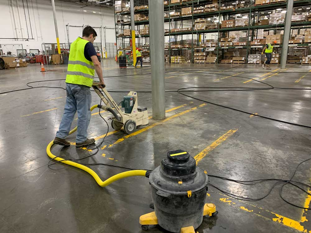 Industrial Dustless Concrete Repair