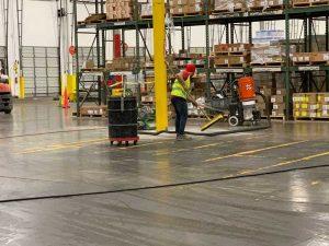 Industrial Concrete Floor Repair