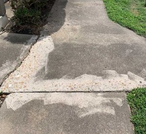 Bad Concrete Repair