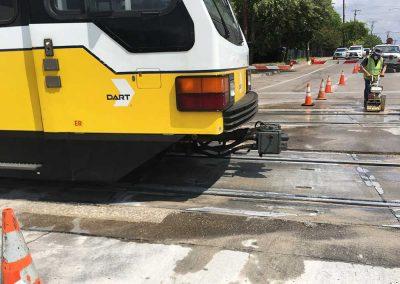 Concrete Track Repair